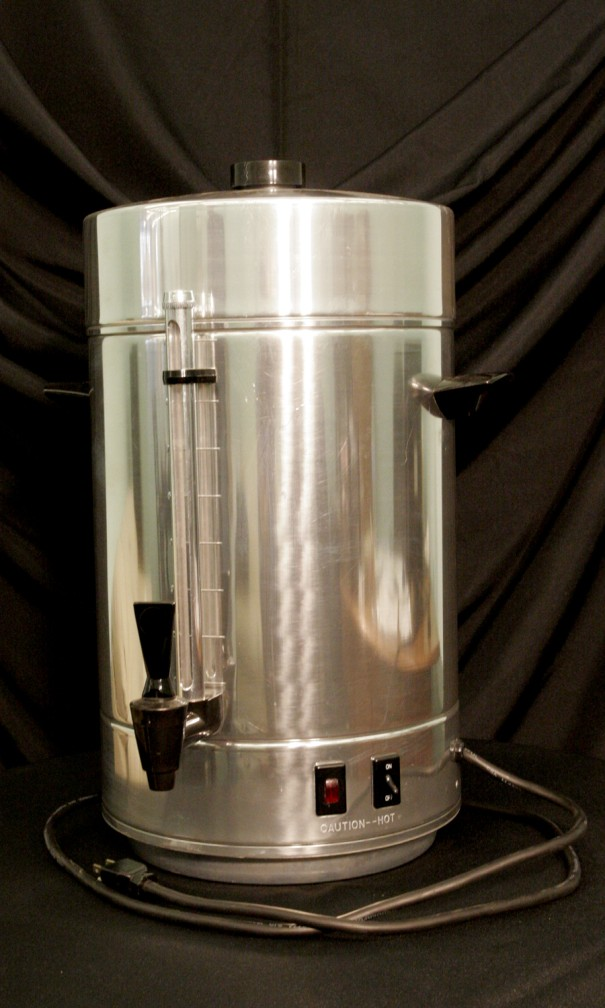 100 Cup Coffee Maker (Stainless Steel)