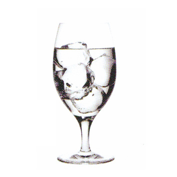 17oz Stemmed Water Glass