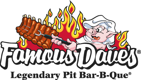 Famous Daves is the top vendor of the month