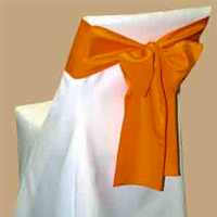 Table linen and chair cover rentals